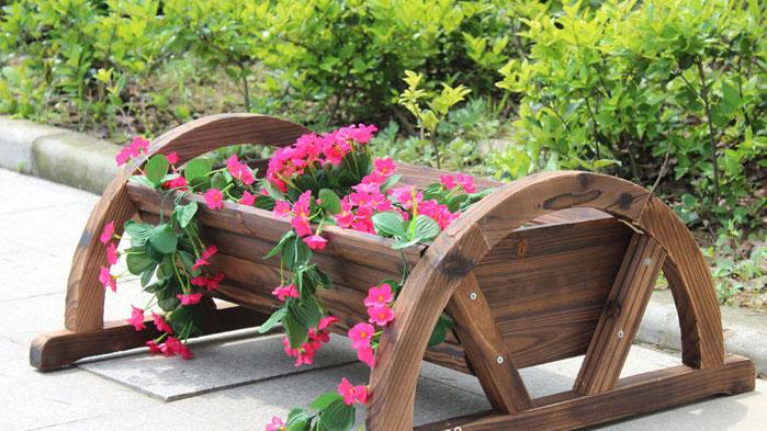 Для цветов своими руками из дерева для сада